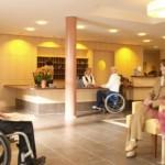 Die Rezeption des deutschen Heidehotels Bad Bevensen.