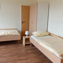 Doppelzimmer im Gruppenhaus Ostseehof für Menschen mit Behinderung