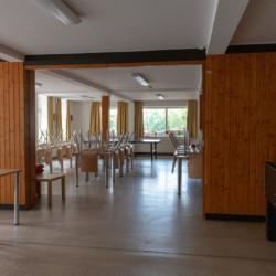 Gruppenraum für behinderte Menschen im Gruppenhaus Ferienhof an der Ostsee