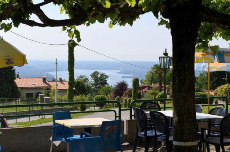 Die Aussicht des Hauses La Capannina in Italien.