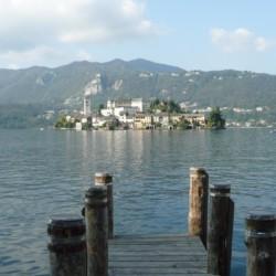 Der nahagelegene See am Gruppenhaus La Capannina in Italien.
