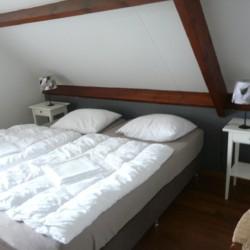 Doppelzimmer im niederländischen handicapgerechten Gruppenhaus Het Keampke Haus Eik.