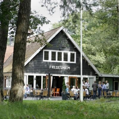 Das niederländische Freizeitheim Fredeshiem.