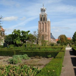 Park in der Nähe vom handicapgerechten niederländischen Gruppenhaus Follenhoegh.