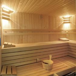 Der Saunabereich im Freizeitheim Linde Plus in den Niederlanden.