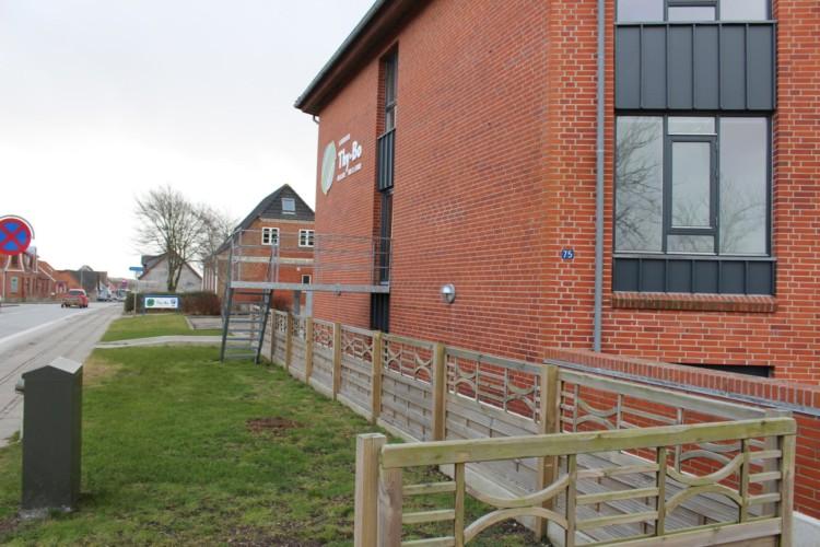Handicapgerechtes Gruppenhaus im dänischen Thy.