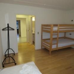 Rolligerechtes Zimmer im dänischen Haus Thy Bo.