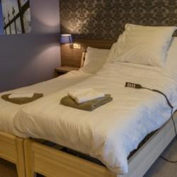 Pflegebetten im barrierefreien niederländischen Gruppenhaus Suyderzee
