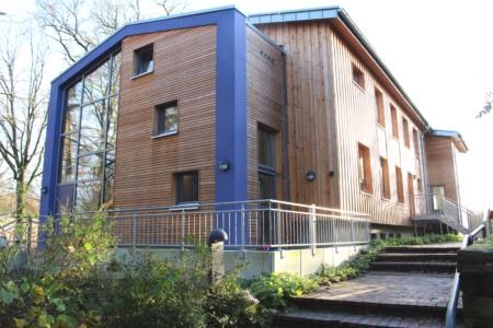 Das Barrierefreie Gruppenhaus Teichhaus Ahlhorn am See für behinderte Menschen