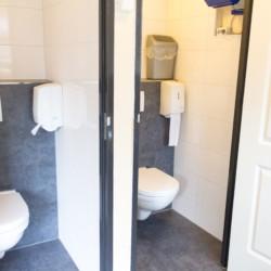 Sanitäre Anlagen im Gruppenhaus De Boerschop in den Niederlanden.