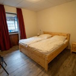 Doppelzimmer im behindertengerechten Gruppenhaus Moselschleife in Deutschland